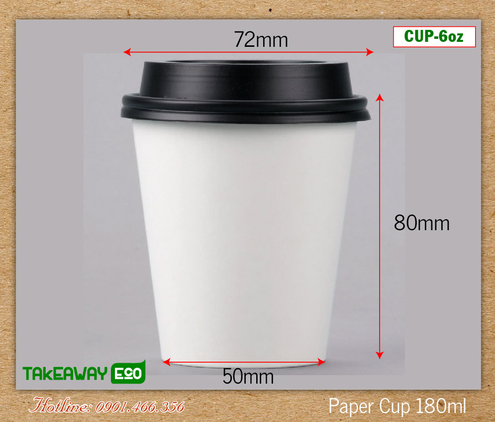 Paper Cups Hot 180ml